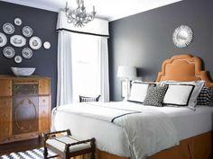 Dormitorio gris oscuro                                                                                                                                                                                 Más