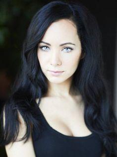 nice black hair blue eyes pale skin