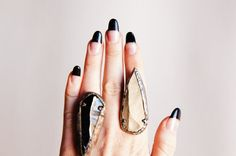Arrowhead Ring by EVIDENCEJEWELRY on Etsy, $45.00