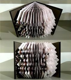Book Art Folded by Vlatka Fric