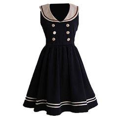 Partiss women's Double-breasted Lolita One-Piece Dress M Dark Navy Partiss http://www.amazon.com/dp/B01D8J6KB2/ref=cm_sw_r_pi_dp_Od58wb0XTGXY2