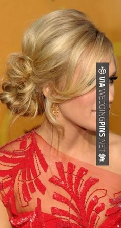 Like this - Side Bun Wedding Hair Side bun. Great wedding hair! Love Carrie shes so sweet and kind and evens remembers my name | CHECK OUT MORE TO DIE FOR PHOTOS OF GREAT Side Bun Wedding Hair AT WEDDINGPINS.NET | #sidebunweddinghair #naturalhair #weddinghairstyles #weddinghair #hair #stylesforlonghair #hairstyles #hair #boda #weddings #weddinginvitations #vows #tradition #nontraditional #events #forweddings #iloveweddings #romance #beauty #planners #fashion #weddingphotos #w