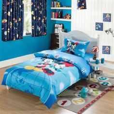 Mickey Mouse Comforter Sky Blue Comforter Sets