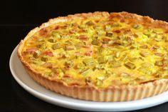 Une recette inratable de Tarte à la rhubarbe (sans gluten) au Thermomix sur Yummix • Le blog dédié au Thermomix !