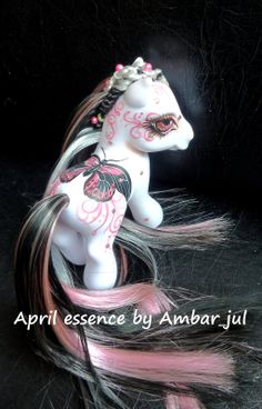 My little pony custom April Essence by AmbarJulieta.deviantart.com on @deviantART