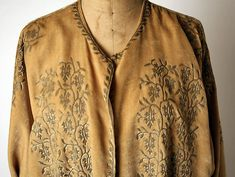 Evening coat (image 3 - detail) | Mariano Fortuny | Italian | 1934 | silk | Metropolitan Museum of Art | Accession Number: 1979.344.12