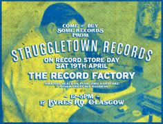 RSD | Struggletown Records Stall at The Record Factory www.facebook.com/events/677088472355934
