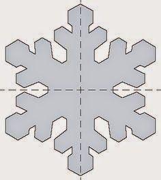 Molde Floco de Neve Frozen para EVA Mais