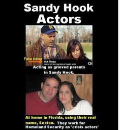 sandy hook cover up actors A treasure trove for those the sandy hook coverup -- full movie gene rosen and other actors exposed selling sandy hook massacre.