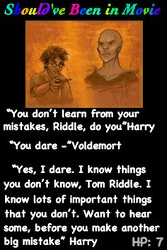 Harry Potter and the Deathly Hallows Should've Been in Movie Harry  Voldemort Riddle