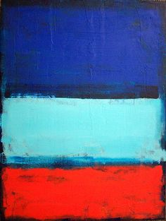 electro fields . original abstract contemporary color field painting by brian elston