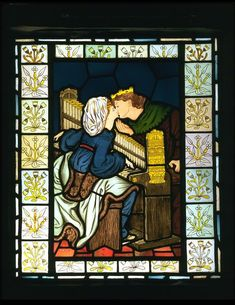 King René's Honeymoon; Music (Panel) Date: ca. 1863 (made) Place: London Artist/maker: Rossetti, Dante Gabril