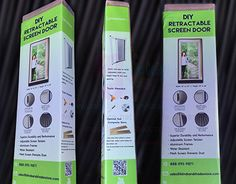"""Check out new work on my @Behance portfolio: """"Package Label Design For Screen Door Product"""" http://be.net/gallery/43561381/Package-Label-Design-For-Screen-Door-Product"""