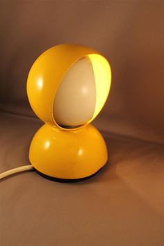Original 60s or 70s Vintage Eclisse Desk Lamp Yellow Design Vico Magistretti for Artemide 1960s 1970s on Etsy, $134.49