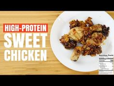 Sweet&Crunchy High-Protein Mango&Chicken
