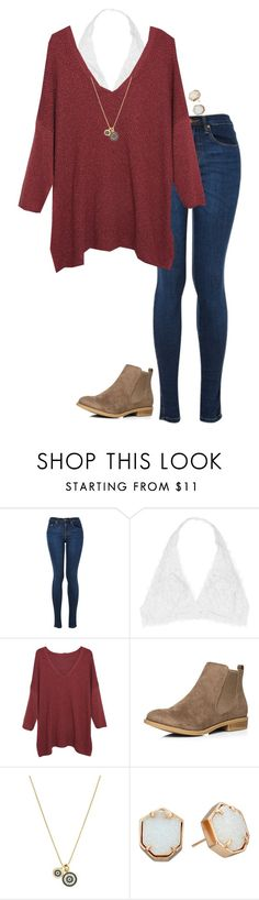 """""""{friday night football}"""" by southerngirl03 ❤ liked on Polyvore featuring Youmita, Violeta by Mango, Dorothy Perkins, Louise et Cie and Kendra Scott"""