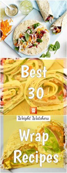 Best+30+Weight+Watchers+Wrap+Recipes