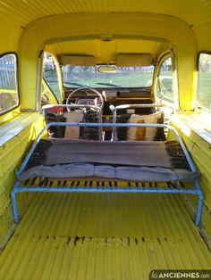 CITROEN 2ch Camionnette  monospace ,    4 places assises, première mise en circulation le 8 juin 1970 ;   type  AK-B  ; bon état général.   Prévoir le contrôle technique et la rénovation des...