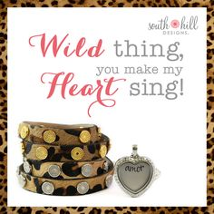 Let your wild side out this spring with our new arrivals to the South Hill Designs collection!