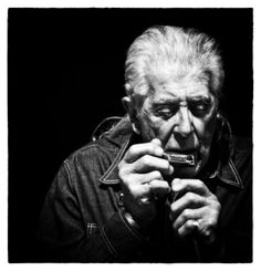 John Mayall (1933) - English blues singer, guitarist, organist and songwriter, whose musical career spans over fifty years. In the 1960s, he was the founder of John Mayall & the Bluesbreakers, a band which has included some of the most famous blues and blues rock musicians.