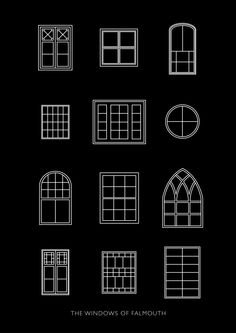 The windows of Falmouth // Flora Fricker