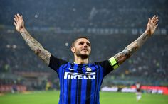 Download wallpapers Mauro Icardi, 4k, Inter Milan, Seria A, Icardi, goal, Internazionale, footballers, soccer