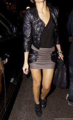 That skirt! Sexy and visually interesting. #MyVSFallEdit