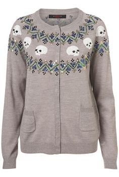 "The cardigan equivalent of Nordic Death Metal....or ""the kind of jumper you wear to hunt trolls""....either way: WANT."