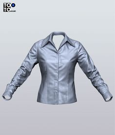 elegant-shirt-with-cuffs-Maya-Scan 3d-Marvelus designer