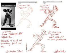 Drawing Tips by Stephen Silver Character Design Tips, Character Design References, Character Design Inspiration, Drawing Cartoon Characters, Character Drawing, Cartoon Drawings, Animation Character, Character Poses, Figure Drawing Reference