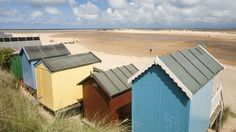 Wells-next-the-Sea has been named as one of Britain's best beaches. Beach huts at Wells-next-the-sea and this beach is only 10 minutes drive from our camp. http://www.2posh2pitch.co.uk/