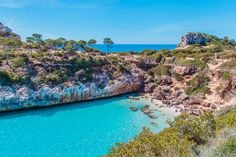 Mallorca has a lot of beaches, but if you're looking for the best Mallorca beaches with the most beautiful views, these seven beaches on Mallorca won't disappoint.