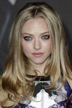 Sandy blonde long hair