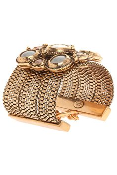 Oscar De La Renta medieval multi stone bracelet