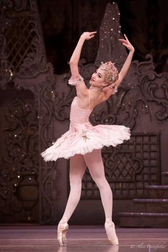 The Royal Ballet's Yasmine Naghdi as Rose Fairy - Photo by Alice Pennefather