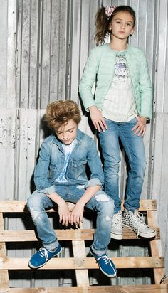 GAS Jeans Spring Summer 2015 - GAS Junior Collection #kids
