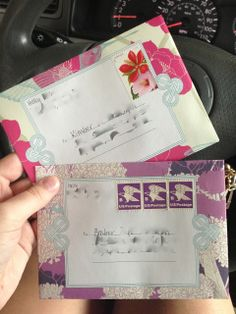 Snail Mail Love - this is such a great idea! Perfect way to use old magazines!