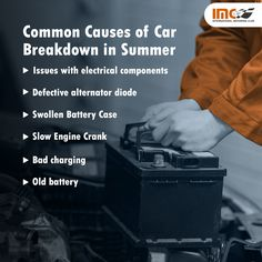 There is no better feeling than hitting the open road during the summer months. Unfortunately, extreme heat can take a toll on your vehicle engine. Excessive heat and overcharging are the two common reasons for shortened battery life.  Seek the information about some summer car engine problems that all drivers should be aware of. #CarMaintenanceTips