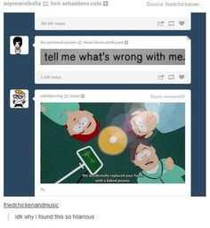 Leave it to tumblr to ruin a deep quote with a southpark still