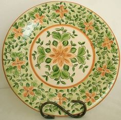 Prato Bolo Aba Larga - Mandala Floral | Studio Ge | 2553CC - Elo7