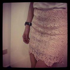 Rana Greiche ready to wear lace skirt