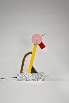 the modern archive - Tahiti Lamp by Ettore Sottsass for Memphis