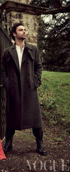 Aidan Turner for Vogue … Poldark Star. British Actresses, British Actors, Actors & Actresses, American Actors, Aidan Turner Poldark, Ross Poldark, Bbc Poldark, Fantasy Films, Fantasy Male
