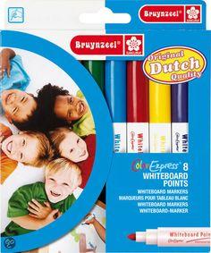 Dry erase markers = whiteboard points hier in NL  O.a. te koop bij bol.com   Bruynzeel Color Express 8 Whiteboard Stiften €7