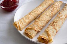 Bögrés palacsinta egyszerűen Waffles, Pancakes, Lidl, Tortilla Chips, Ethnic Recipes, Food, Essen, Waffle, Pancake