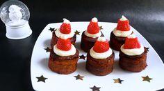 Santa Hat Cake #Noel #christmas