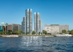 Three Foster + Partners towers approved for London's Albert Embankment  Can't wait to see the inside..