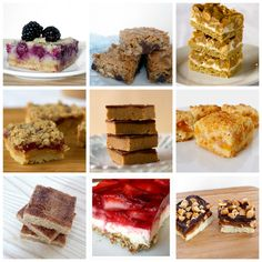 desert bar recipes