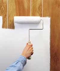 Cost To Paint And Glaze Paneling Diy Painting Wood Paneling