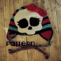 Crocheting: Monster High Crochet Applique